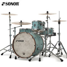 """NEW Sonor SQ1 Series 22"""" 3 Piece Drum Shell Pack Cruiser Blue SQ1-322NMCCRB"""
