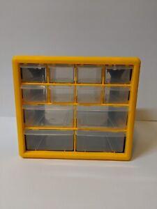 12 Drawer Storage Organizer drawers Craft Hobby Home Art Office Supplies New