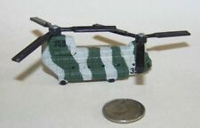 Hot Wheels Military Ch-47 Chinook Helicopter in Striped Camouflage