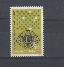 Norfolk Island 1967 Lions International MNH