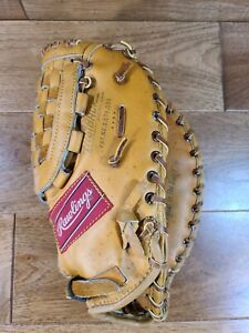 "Rawlings Boog Powell XFB-19 Leather Baseball Glove Right Hand Throw 12"" Made USA"