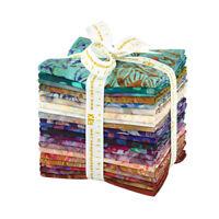 Robert Kaufman Terrace Batiks 21 FQs Fat Quarter Bundle Precut Fabric FQ-1238-21