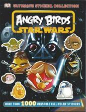Angry Birds Star Wars Ultimate Stickers 1000+ Reusable New C3P Yolk Lard Vader