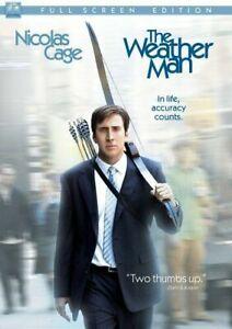 Like New FS DVD The Weather Man (Full Screen Edition) Nicolas Cage Hope Davis