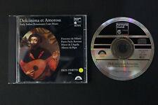 CD: Dolcissima & Amorosa Early Italian Renaissance Lute Music 94 Harmonia Mundi