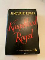 1947 Kingsblood Royal by Sinclair Lewis Random House Book Club Hardcover With DJ