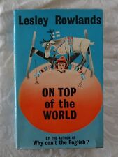 On Top of the World by Lesley Rowlands | HC/DJ 1961 1st Edition