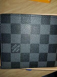 Louis Vuitton marco Wallet damier graphite canvas 100% authentic