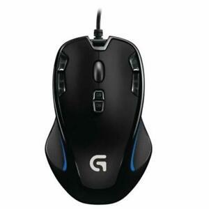 Logitech G300S Ergonomic Optical Gaming Mouse 7 Backlit Programmable Adjust DPI/