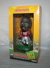 1998 HEADLINERS TERRELL DAVIS 33 Georgia Bulldogs  Action Figure Statue NFL HOF