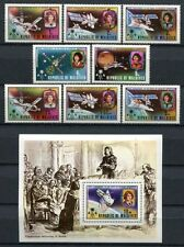 MALEDIVEN MALDIVE 1974 Kopernikus Astronomie Raumfahrt 497-504 + Block 23  **
