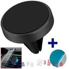 Support Universel Aimant Magnetique Voiture pour Smartphone Telephone GPS Noir
