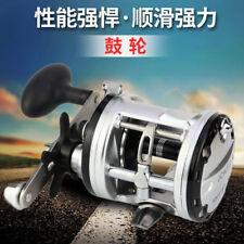 JCA Right Hand 13BB Drum Raft Fishing Rod Reel Strong Power Force Trolling Wheel
