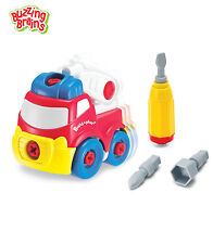 Infant Kids Child Build Play Fire Engine Learn Motor Skills Sensory Toy Age 3