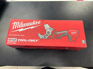 Milwaukee 2470-20 M12 Plastic Pipe Shear NEW! TOOL ONLY!