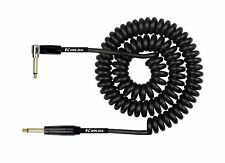 Kirlin Coiled Guitar Cable 30ft - Black