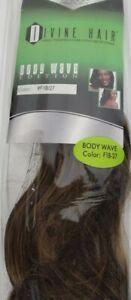 Divine Hair Black n Gold Body Wave High Temp Synthetic Hair F1B/27