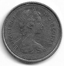 Canada Queen Elizabeth II 10 Cents Coin - 1981
