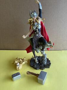 "Marvel Lady Thor (Jane Foster) 11"" PVC Statue Multi Heads"