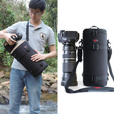 Hot Waterproof DSLR 200-500150-600mm Lens Camera Bag Case For Nikon Canon Tamron