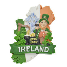 Resin Ireland Fridge Magnets Sticker Refrigerator Magnet Sticker Travel Souvenir