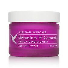 5* Natural Organic Moisturiser with Geranium & Camomile for sensitive skin