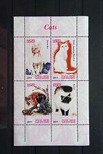 Katzen 45 1cats Chats Tiere animals pets Fauna Block KB sheets postfrisch ** MNH