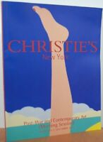 Christie's New York - Post-War And Contemporary Art Morning Session Wednesday