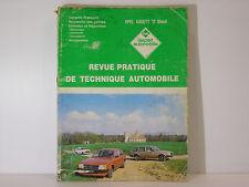 RTA Revue Technique Automobile Opel Kadett D Diesel 1600