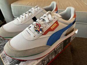 Nintendo Puma Future Rider Super Mario 64 Shoes Size 10.5 Men's New In Box