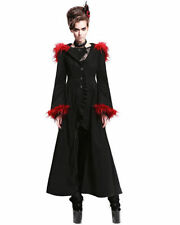 Polyester Hood Gothic Coats & Jackets for Women