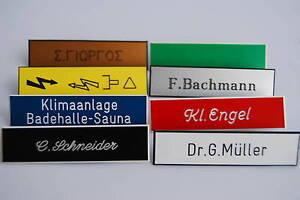 Klingelschild ,Briefkastenschild, Türschild ,Namenschild ,Wunschgravur