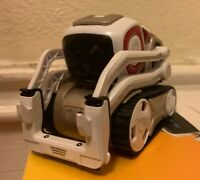White Anki Cozmo Real Life Robot Toy - Not Working (NO CHARGER AND CUBES)