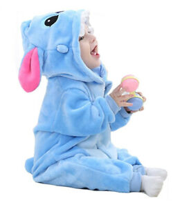 Baby Animal Carnival Fancy Dress Party Blut Stitch Costume Outfit Romper 0-30M