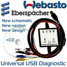 New USB Webasto Eberspacher Diagnostic Adapter Cable Interface Heaters WTT EDiTH