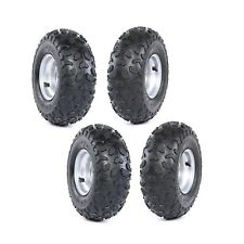 (4) 145/70 - 6 Go-Kart, Go-Cart Tires 145 x 70 - 6 Wheel with Rim ATV QUAD BUGGY