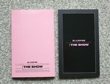 Official Blackpink 2021 [The Show] DVD, Accordion Book 492*135 mm