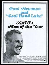 1967 Paul Newman GREAT photo Cool Hand Luke movie trade print ad