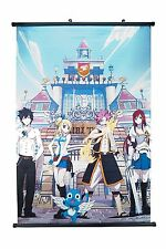 Fairy Tail Team Natsu Anime Wall Scroll Medium Size - 40x60 CM