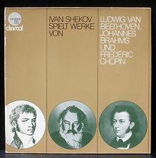 Ivan Shekov : Beethoven, Brahms, Chopin  Autographed LP NM -, CV VG++.
