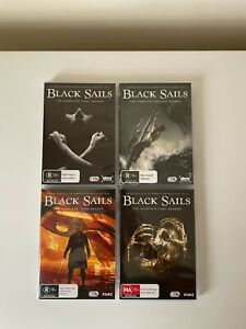 Black Sails - Complete Series 15 Discs Like New - Sold As Is - Free Post + Track