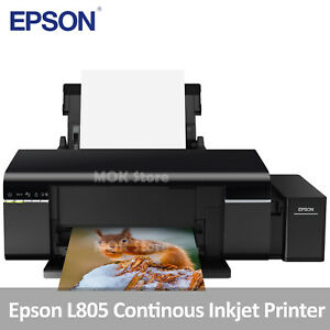 Epson L805 Continous Ink Supply System Inkjet Printer w 70ml x 6 Ink Bottles