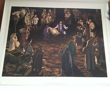 Harry Antis The Nativity Jesus Joseph Mary Limited Edition Lithograph Print