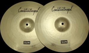 "Constantinopol SUN HI-HAT 13"" - B20 Bronze - Handmade Turkish Cymbals"