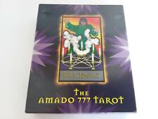 Amado 777 Tarot deck - Amado son of Aleister Crowley - Sealed pack of 111 cards