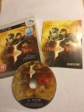 PS3 PLAYSTATION 3 GAME RESIDENT EVIL  5 / V GOLD EDITION BOXED COMPLETE PAL VGC