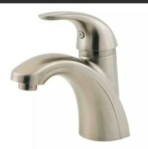 FOR PARTS Pfister  Parisa  Single Handle  Lavatory Faucet  Brushed H51