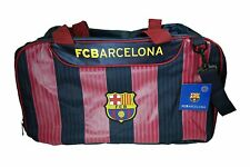 Fc Barcelona Soccer Duffel Gym Holdall BagTeam Gear Sports Messi 10 Jersey