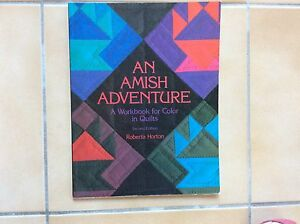 """BOOK. """" AN AMISH ADVENTURE"""" by ROBERTA HORTON  2 nd edition"""