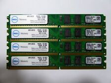 Dell 8GB PC2-6400 DDR2-800MHz non-ECC Unbuffered CL6 240-Pin (4x2GB) Low Profile